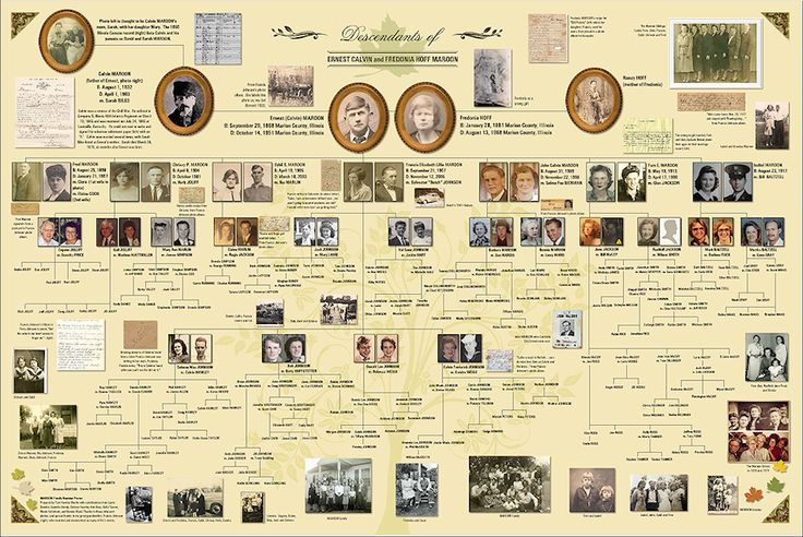 Amazing poster created using Ancestry's MyCanvas program!