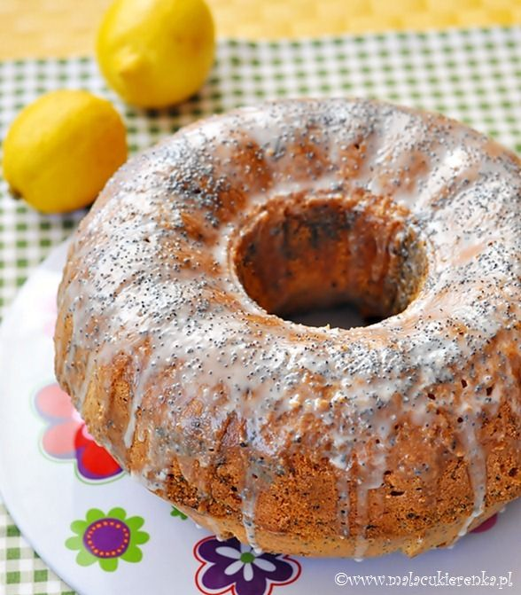 Lemon Poppy Seed Pound Cake | Yummo! | Pinterest