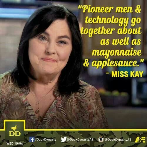 Miss Kay On Duck Dynasty