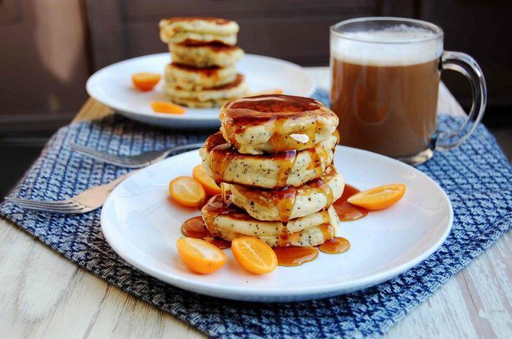 Kumquat & Poppy Seed Pancakes | French Toast / Pancakes | Pinterest