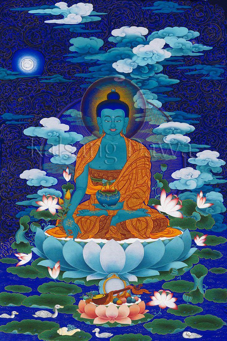 Medicine Buddha, by Kalsang Dawa