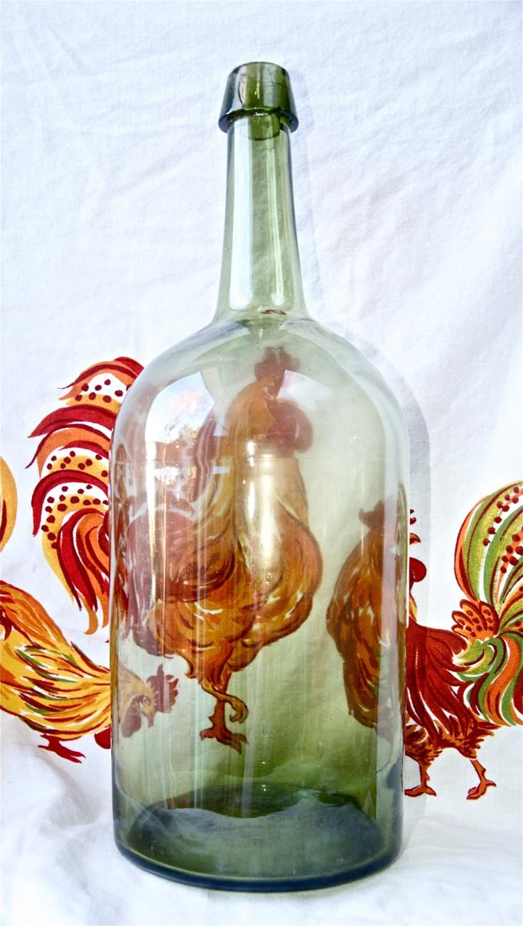 Pin by kristen sarah on pamela pinterest for Green glass wine bottles