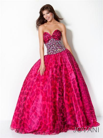 leopard print prom dresses