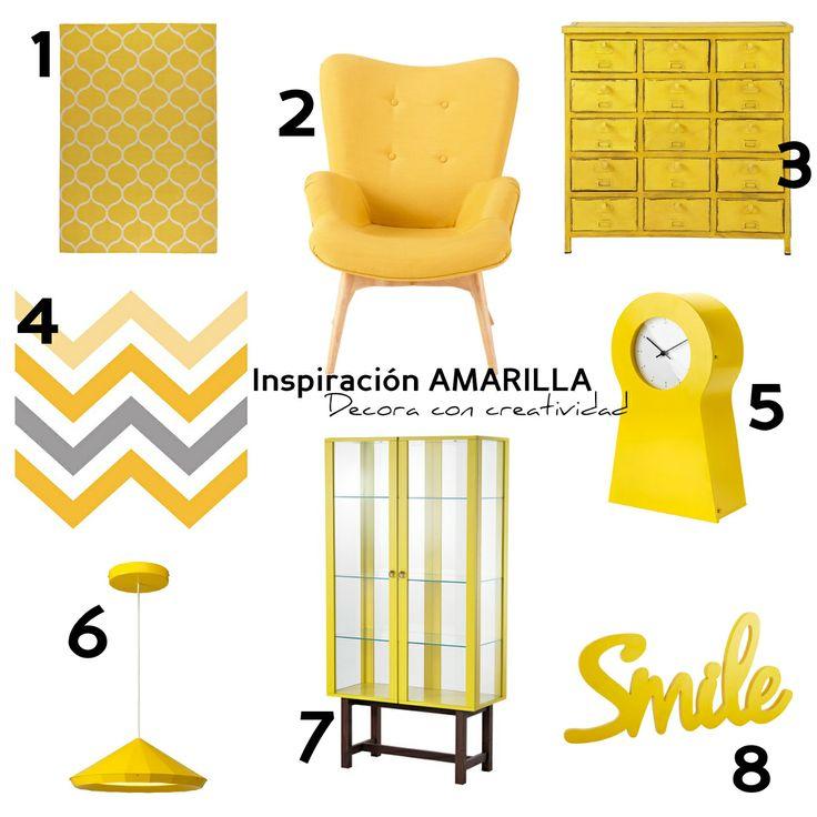 Decoraci n amarillo decoration yellow 1 ikea - Alfombra vinilo ikea ...