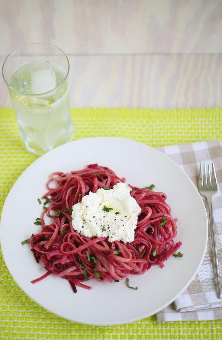 Creamy Roasted Beet Pasta Recipes — Dishmaps