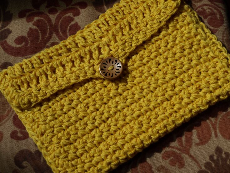Crochet Cosmetic Bag Pattern : Cosmetic Bag