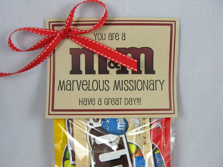 M&M marvelous missionary gift