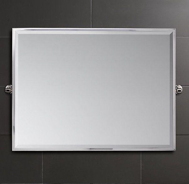 "Grafton 40"" x 30"" Pivot Mirror Bathroom Remodel"