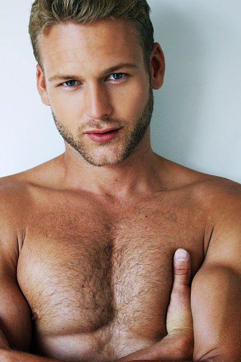 Hot hairy blonde men