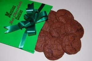 ... Mexican hot chocolate drink. This delicious chocolate cookie with a