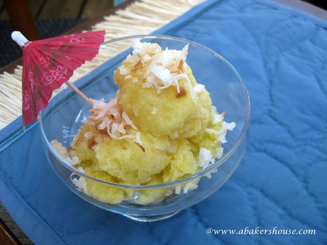 Piña Colada-Inspired Pineapple Granita | Frozen Treats and Jello Shot ...