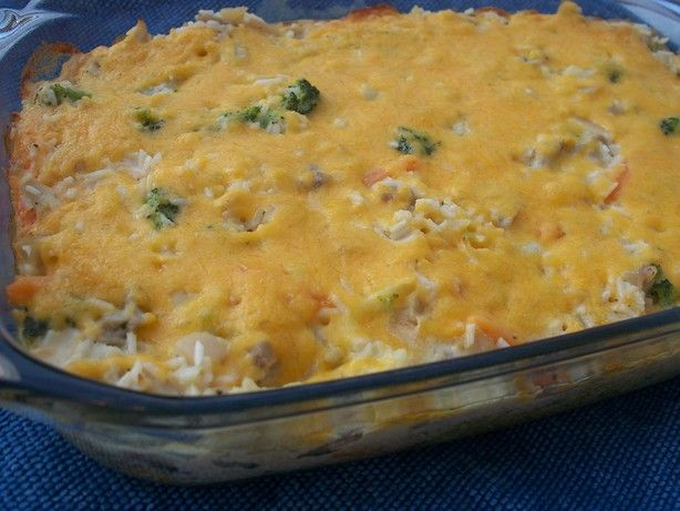 Creamy Chicken and Rice Bake | Recipe