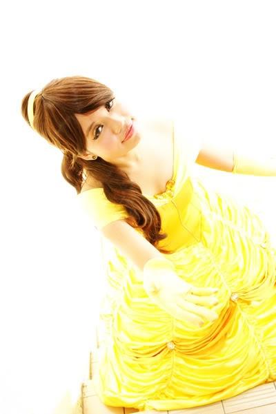 Princess Belle Hairstyle Tutorial