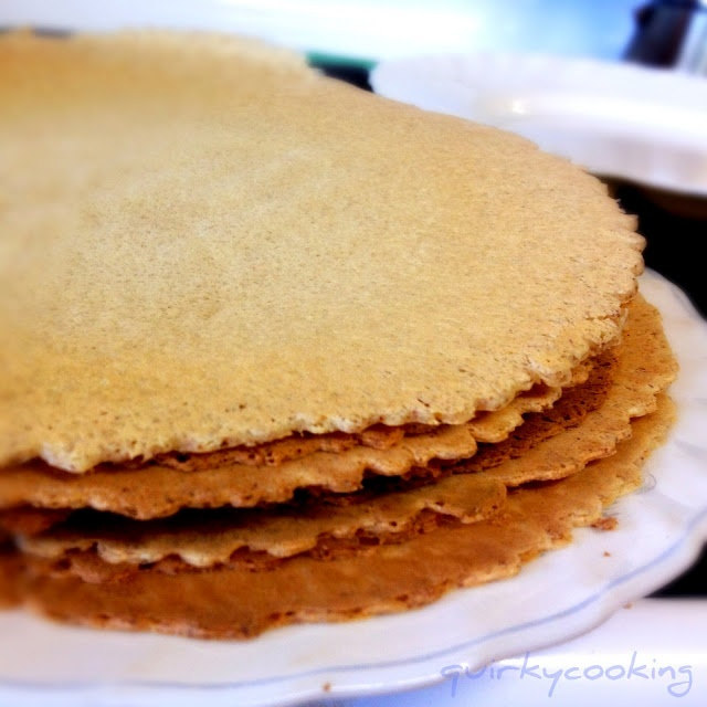 Quirky Cooking: Buckwheat & Almond Crepes (or Wraps)