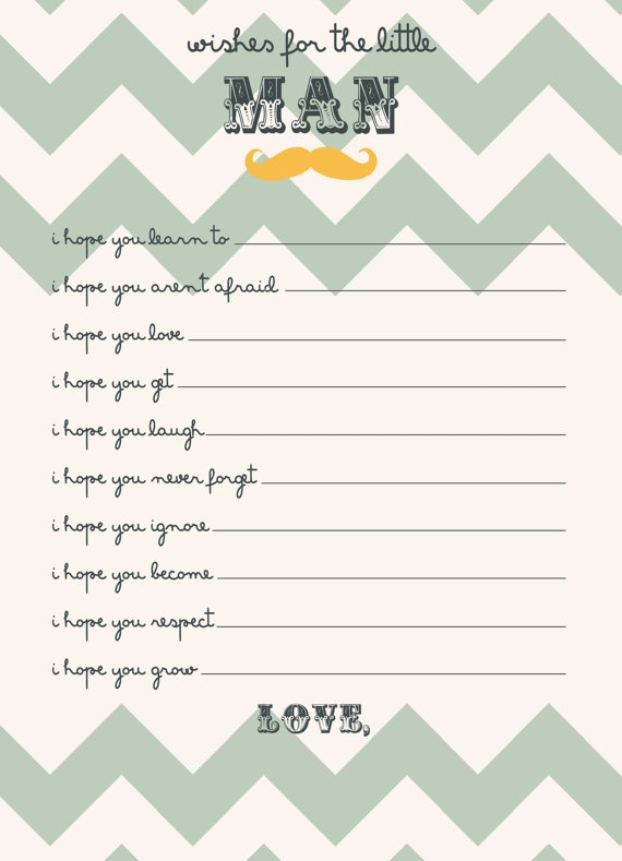 baby shower game wishes for the baby boy diy by designxfive