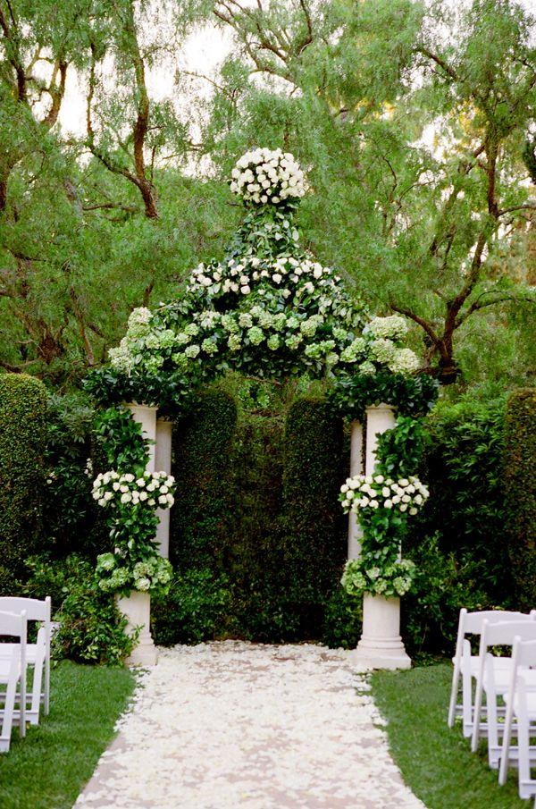Wedding Decorations ~ Ceremony Arch Wedding Ceremony www