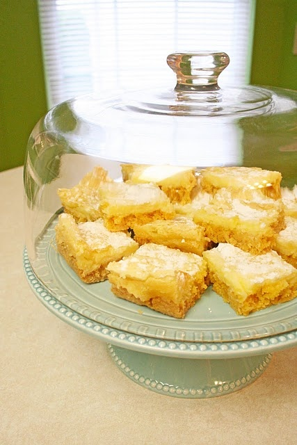 Buttery cream cheese bars
