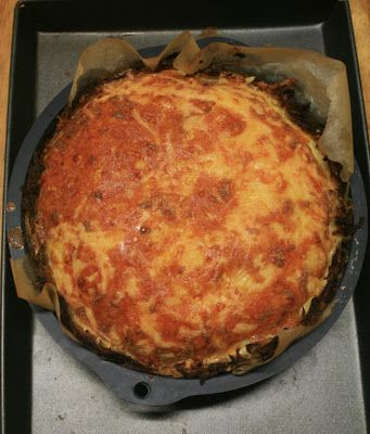 Gruyere And Pancetta Quiche With Hash-Brown Crust Recipes — Dishmaps