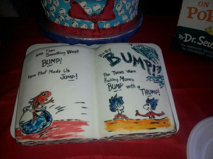 Dr Seuss book cake | Jazz 'M Cakes (By Monica Ramirez) | Pinterest