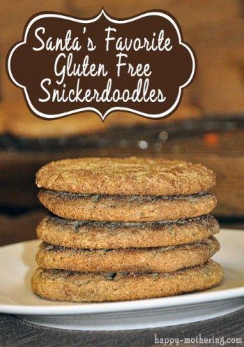 Santa's Favorite Gluten Free Snickerdoodles Recipe