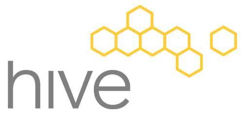 Hive Modern Logo Logo Stationary Design Pinterest