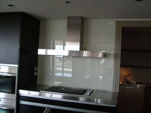 heat resistant glass backsplash kitchens pinterest