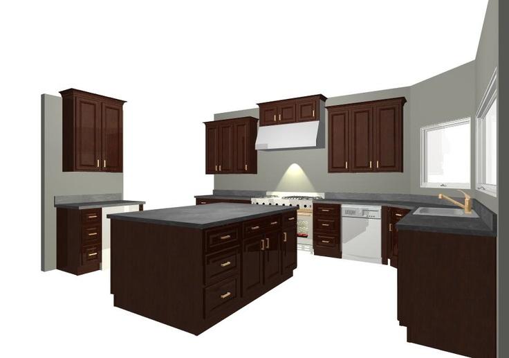 Kitchen cabinets house ideas pinterest for Kitchen units pinterest