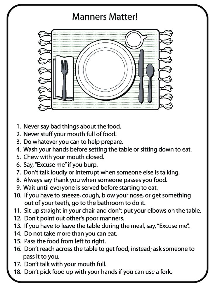 Billy Lai Table Manners Girl Scout Ideas Pinterest