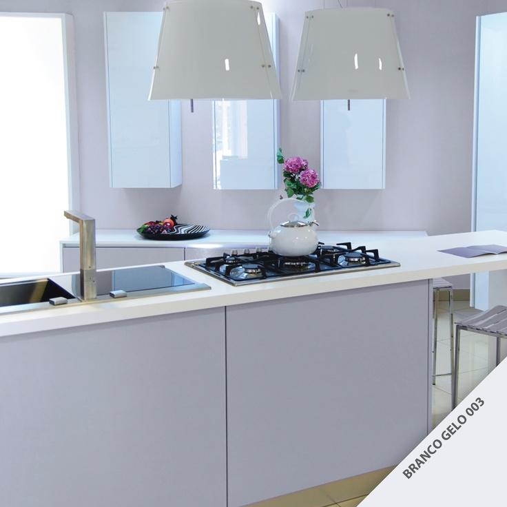 "decoracao branco gelo: tom ""Branco Gelo"" da Diatex? #DecoracaoAmbiente #Cozinha #Cores"