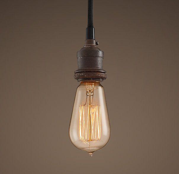 bare bulb filament single pendant portfolio stuff. Black Bedroom Furniture Sets. Home Design Ideas