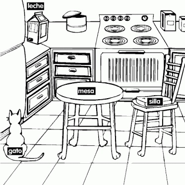 Kitchen Drawing For Kids easy kitchen drawing,kitchen.printable coloring pages free download