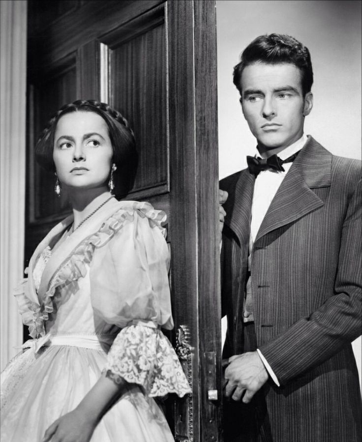 Olivia de Havilland and Montgomery Clift - The HeiressOlivia De Havilland The Heiress