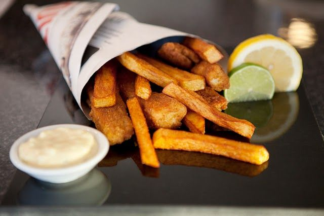 Fish & chips. My favorite thing to order at most restaurants.