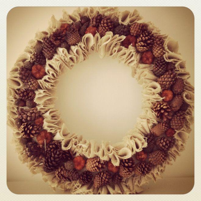 Fall Wreath Tutorial Wreath Ideas Pinterest