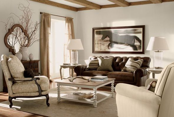 Ethan Allen Vintage Living Room For The Home Pinterest
