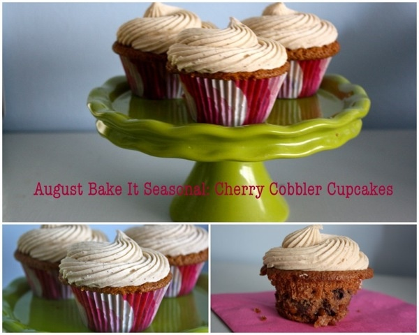 Cherry Cobbler Cupcakes | Interesting Cupcakes, Muffins and Scones (I ...