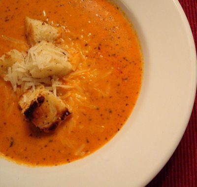 Roasted Red Pepper Soup | Food | Pinterest