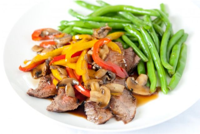 Recipe for Steak Teriyaki - 3-ingredient teriyaki sauce that takes ...