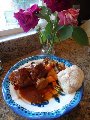 Lamb Shank Stew With Root Vegetables Recipe — Dishmaps