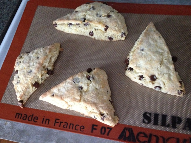 Orange and Dark Chocolate Buttermilk Scones from Hoping in God (my new ...