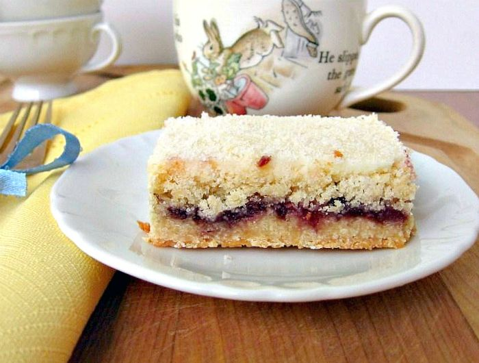 austrian raspberry shortbread needs overnight or at least 4 hours for ...