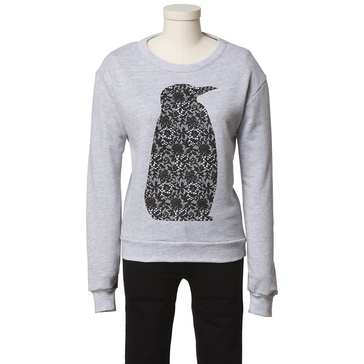 Tibi Fiona Lace Penguin Sweatshirt - eBay Holiday Collective