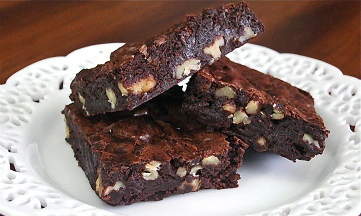 ... Cocoa Brownies with Browned Butter and Walnuts will send you into
