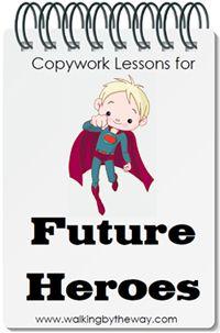 Copywork for boys $5