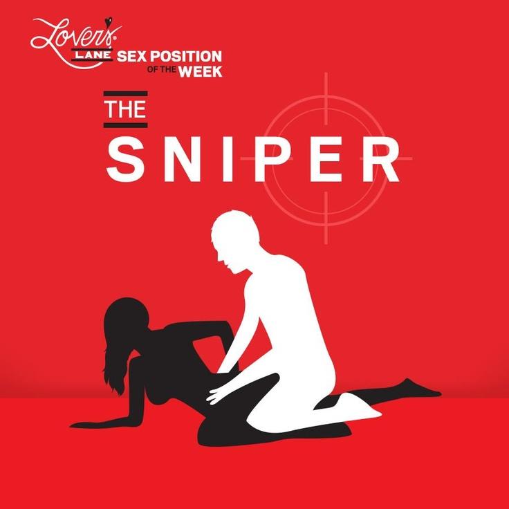 "... "" board lol-Sex Position of the Week February: The Sniper #LoversLane: http://pinterest.com/pin/280208408037859773/"