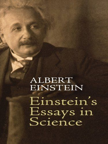 essays written by albert einstein Albert einstein wrote his first scientific essay in the summer of 1895 he was only 16 years old this essay über die untersuchung des ätherzustandes im magnetischen felde (on the investigation of the state of the ether in a magnetic field) was sent to his uncle caesar koch (1854-1941) for an expert's opinion.