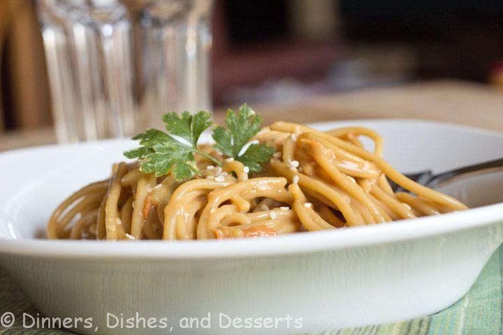 Asian Peanut Noodles | Recipe