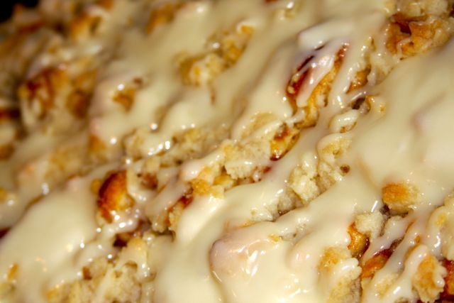 Cinnamon Apple Crumble | Sweet things are made of this... | Pinterest