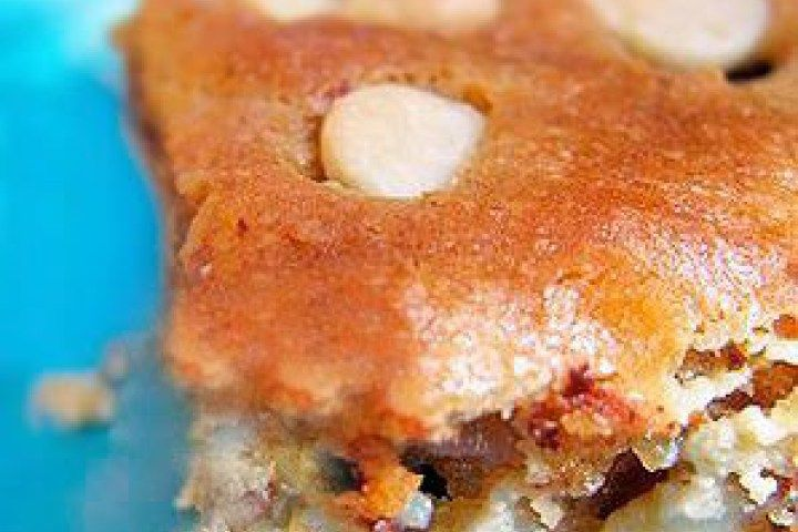 Maui Wowee Bars Recipe with Coconut and Chocolate Chips Recipe made ...