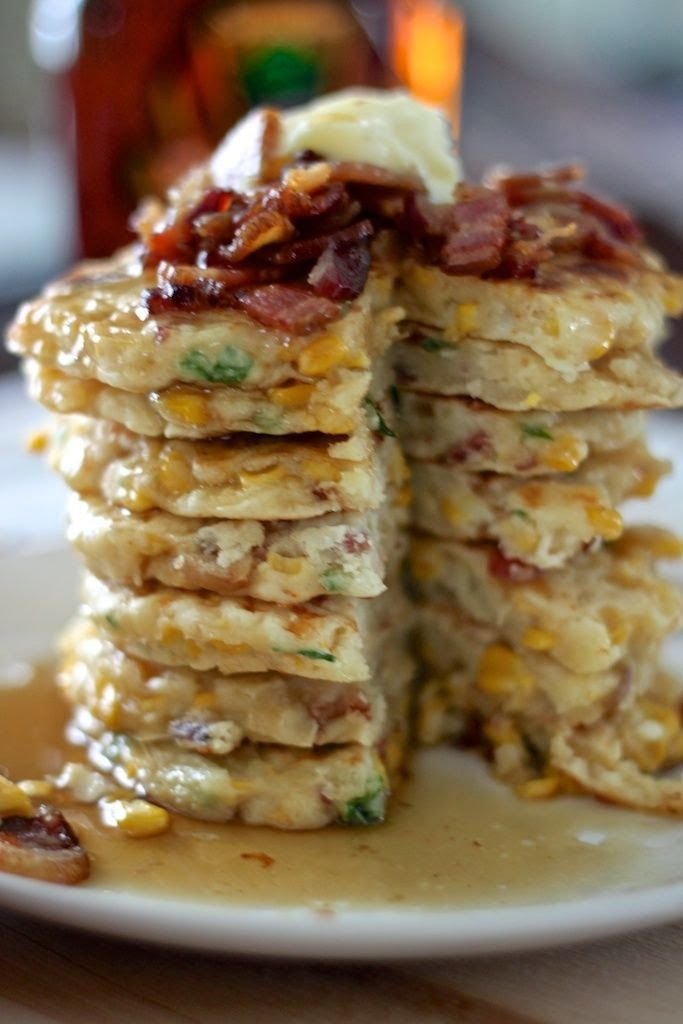 bacon and corn griddle cakes. best recipe I have ever made from ...